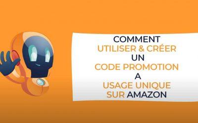 Comment créer un code promotion à usage unique sur Amazon Seller Central